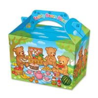 Teddy Bear Picnic Cartoon Meal Party Box